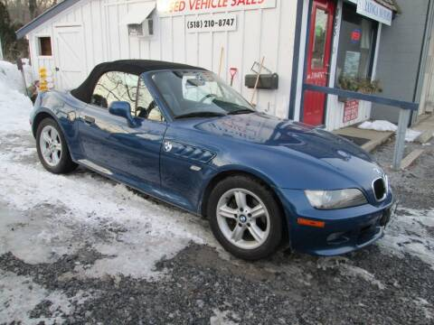 2000 BMW Z3 for sale at Saratoga Motors in Gansevoort NY