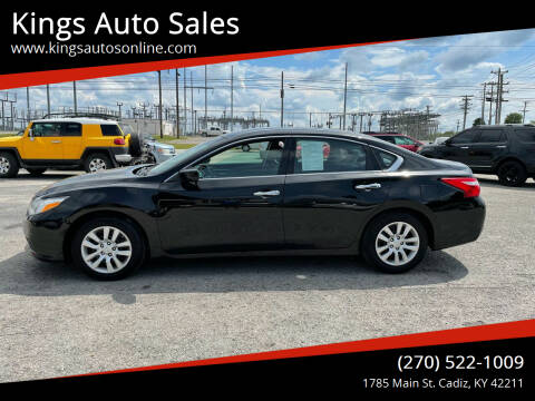 2016 Nissan Altima for sale at Kings Auto Sales in Cadiz KY