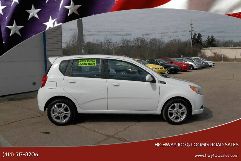 2011 Chevrolet Aveo for sale at Highway 100 & Loomis Road Sales in Franklin WI