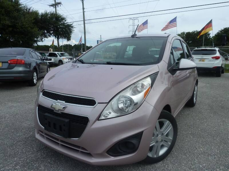 2013 Chevrolet Spark for sale at Das Autohaus Quality Used Cars in Clearwater FL