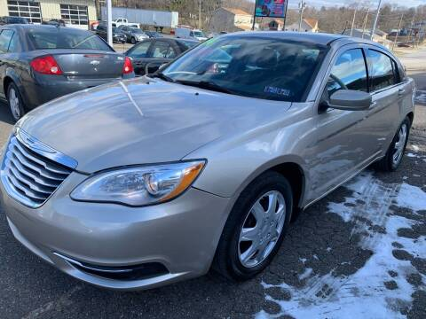 2014 Chrysler 200 for sale at G & G Auto Sales in Steubenville OH