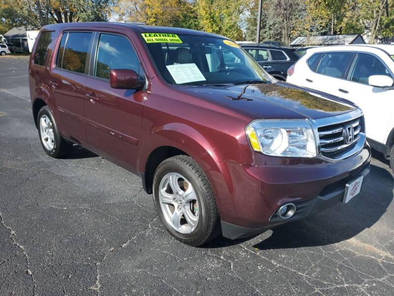 2014 Honda Pilot for sale at Stach Auto in Edgerton WI