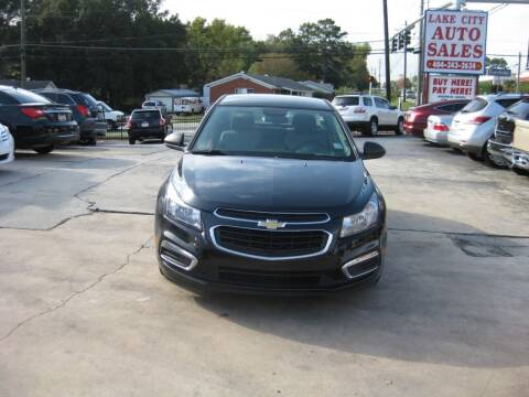 2016 Chevrolet Cruze Limited for sale at LAKE CITY AUTO SALES in Forest Park GA