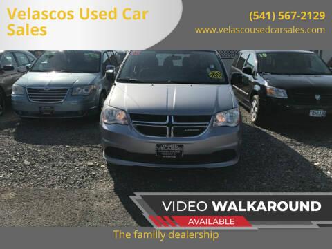 2013 Dodge Grand Caravan for sale at Velascos Used Car Sales in Hermiston OR