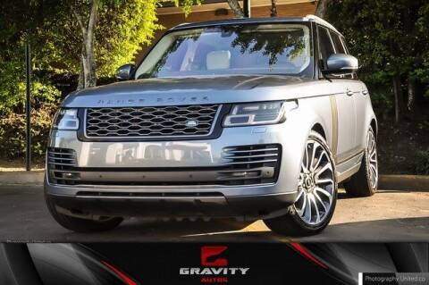 2019 Land Rover Range Rover for sale at Gravity Autos Atlanta in Atlanta GA