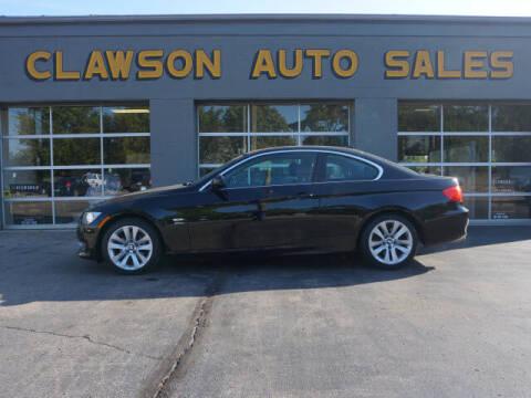 2011 BMW 3 Series for sale at Clawson Auto Sales in Clawson MI