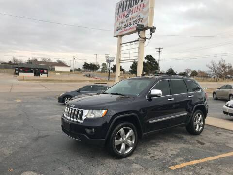 2011 Jeep Grand Cherokee for sale at Patriot Auto Sales in Lawton OK