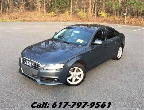 2009 Audi A4 for sale at Wheeler Dealer Inc. in Acton MA