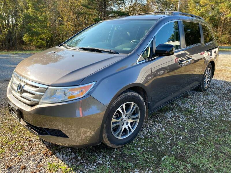 2013 Honda Odyssey for sale at Zapp Motors in Englewood CO