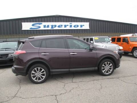 2017 Toyota RAV4 for sale at SUPERIOR CHRYSLER DODGE JEEP RAM FIAT in Henderson NC