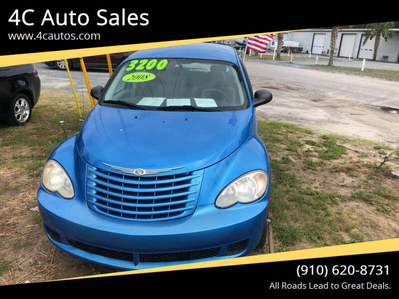 2008 Chrysler PT Cruiser for sale at 4C Auto Sales in Wilmington NC