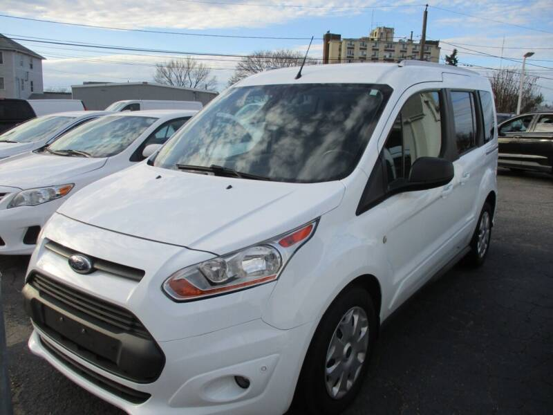 2017 Ford Transit Connect Wagon for sale at AUTO FACTORY INC in East Providence RI
