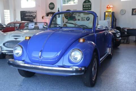 1977 Volkswagen Beetle Convertible for sale at Milpas Motors in Santa Barbara CA