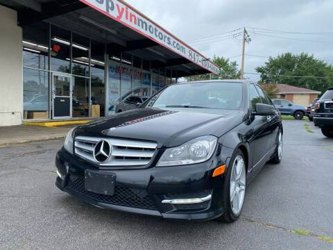 2013 Mercedes-Benz C-Class for sale at TOP YIN MOTORS in Mount Prospect IL