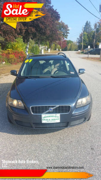 2007 Volvo V50 for sale at Shamrock Auto Brokers, LLC in Belmont NH