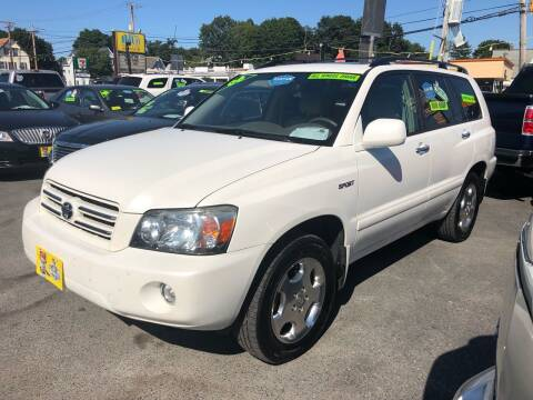 2006 Toyota Highlander for sale at Crown Auto Sales in Abington MA