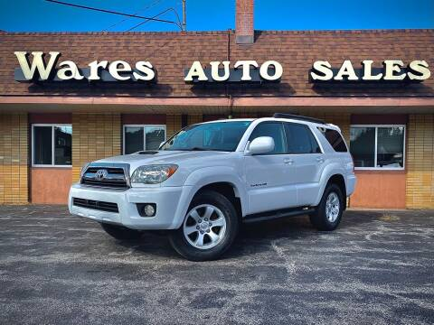 2006 Toyota 4Runner for sale at Wares Auto Sales INC in Traverse City MI