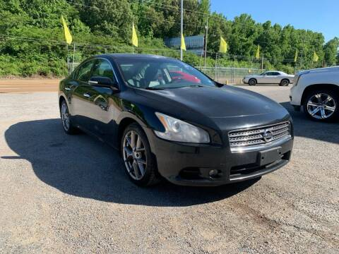 2010 Nissan Maxima for sale at Super Wheels-N-Deals in Memphis TN