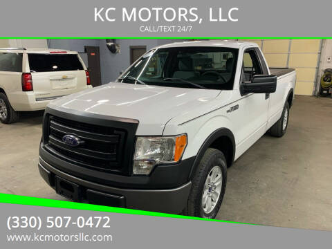 2013 Ford F-150 for sale at KC MOTORS, LLC in Boardman OH
