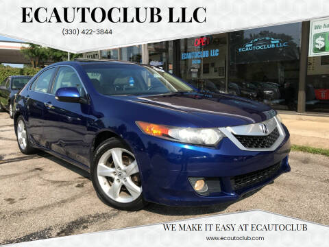 2009 Acura TSX for sale at ECAUTOCLUB LLC in Kent OH