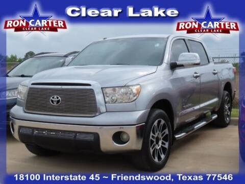 2012 Toyota Tundra for sale at Ron Carter  Clear Lake Used Cars in Houston TX