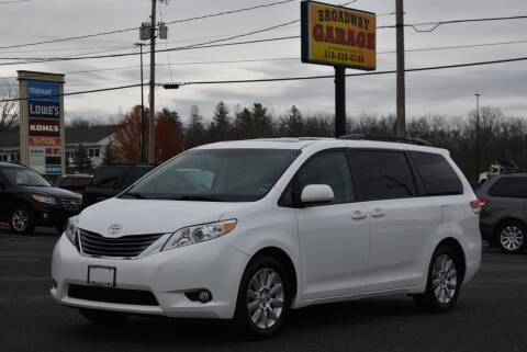 2012 Toyota Sienna for sale at Broadway Garage of Columbia County Inc. in Hudson NY