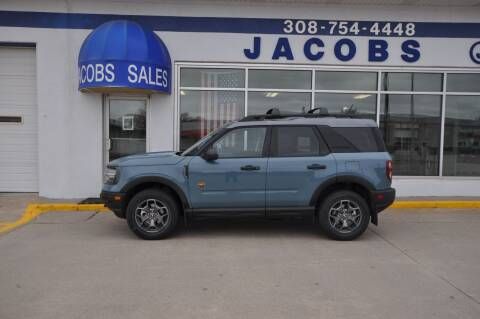 2021 Ford Bronco Sport for sale at Jacobs Ford in Saint Paul NE