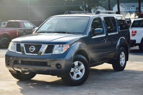 2005 Nissan Pathfinder for sale at Marietta Auto Mall Center in Marietta GA