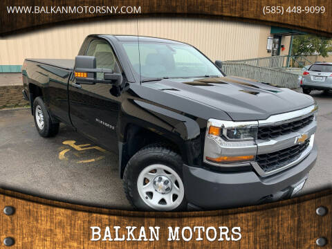 2018 Chevrolet Silverado 1500 for sale at BALKAN MOTORS in East Rochester NY