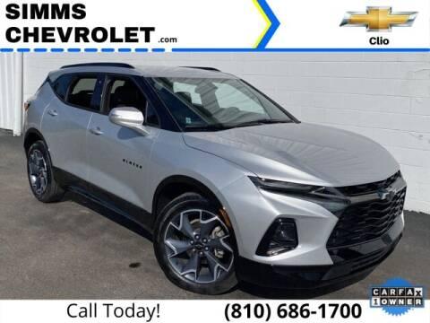 2020 Chevrolet Blazer for sale at Aaron Adams @ Simms Chevrolet in Clio MI