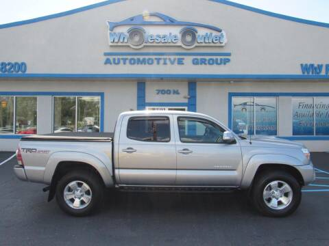 2014 Toyota Tacoma for sale at The Wholesale Outlet in Blackwood NJ