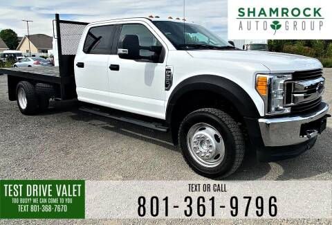 2017 Ford F-550 Super Duty for sale at Shamrock Group LLC #1 in Pleasant Grove UT