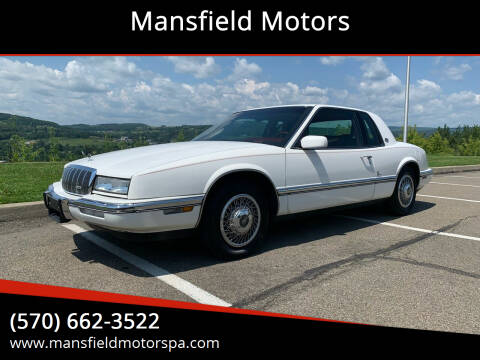 1992 Buick Riviera for sale at Mansfield Motors in Mansfield PA