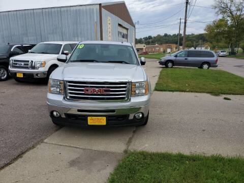 2010 GMC Sierra 1500 for sale at Brothers Used Cars Inc in Sioux City IA