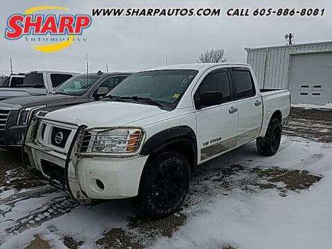 2006 Nissan Titan for sale at Sharp Automotive in Watertown SD