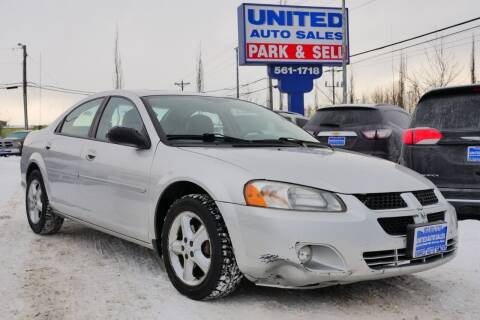 2004 Dodge Stratus for sale at United Auto Sales in Anchorage AK
