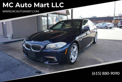 2013 BMW 5 Series for sale at MC Auto Mart LLC in Hermitage TN