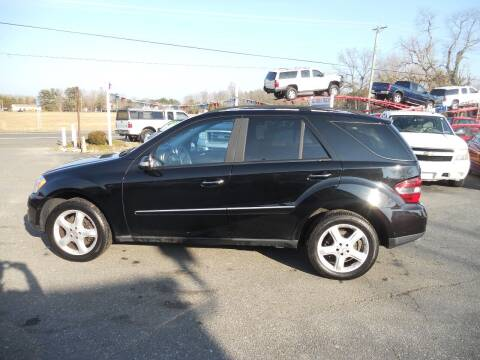 2007 Mercedes-Benz M-Class for sale at All Cars and Trucks in Buena NJ