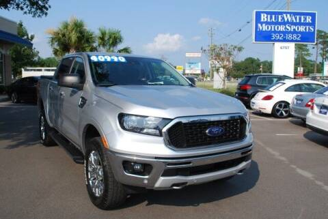 2019 Ford Ranger for sale at BlueWater MotorSports in Wilmington NC