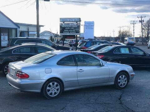 2000 Mercedes-Benz CLK for sale at HYANNIS FOREIGN AUTO SALES in Hyannis MA