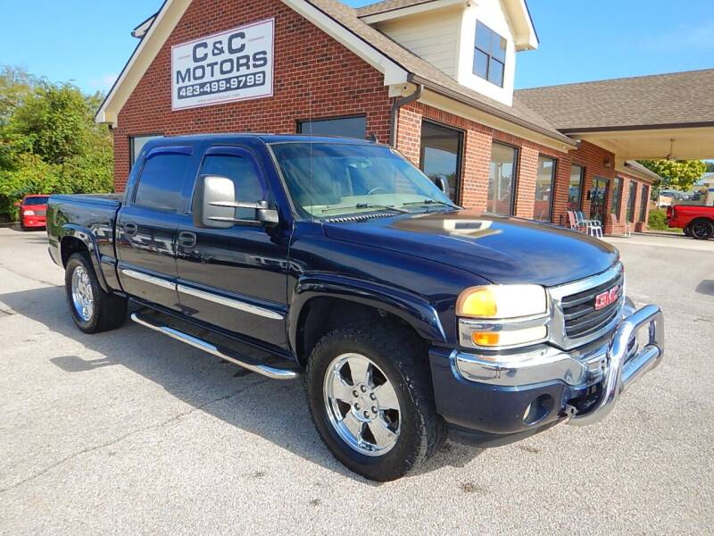 2006 GMC Sierra 1500 for sale at C & C MOTORS in Chattanooga TN