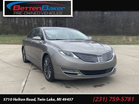 2016 Lincoln MKZ for sale at Betten Baker Preowned Center in Twin Lake MI