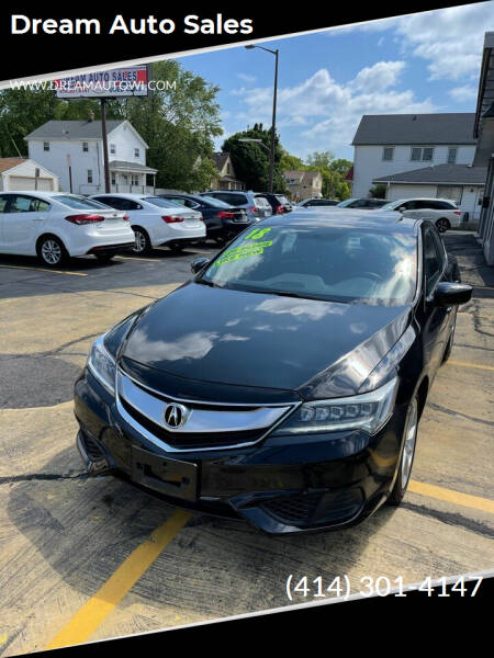 2018 Acura ILX for sale at Dream Auto Sales in South Milwaukee WI