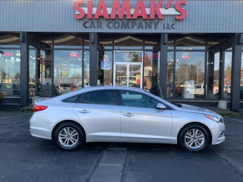 2017 Hyundai Sonata for sale at Siamak's Car Company llc in Salem OR