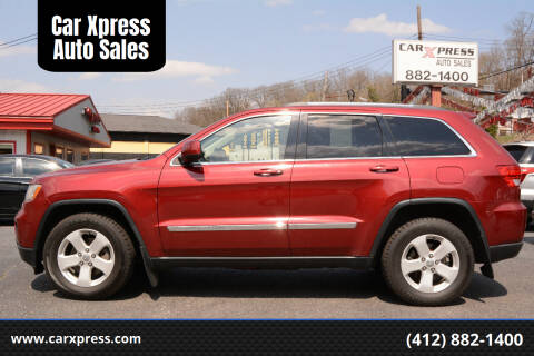 2013 Jeep Grand Cherokee for sale at Car Xpress Auto Sales in Pittsburgh PA