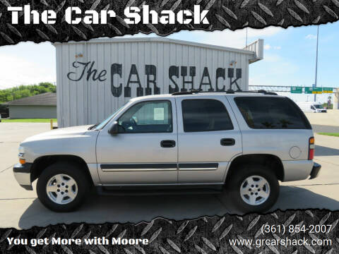 2004 Chevrolet Tahoe for sale at The Car Shack in Corpus Christi TX