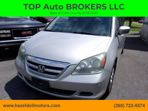2006 Honda Odyssey for sale at TOP Auto BROKERS LLC in Vancouver WA