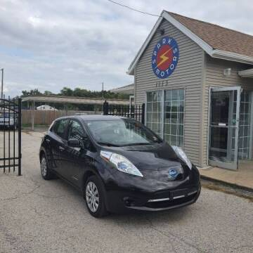 2013 Nissan LEAF for sale at Spark Motors in Kansas City MO