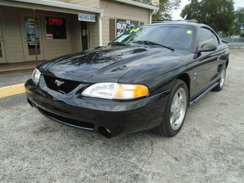 1996 Ford Mustang SVT Cobra for sale at New Gen Motors in Lakeland FL
