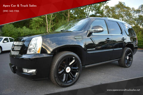 2014 Cadillac Escalade for sale at Apex Car & Truck Sales in Apex NC